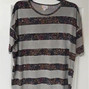 LuLaRoe Striped Classic T Shirt - Small